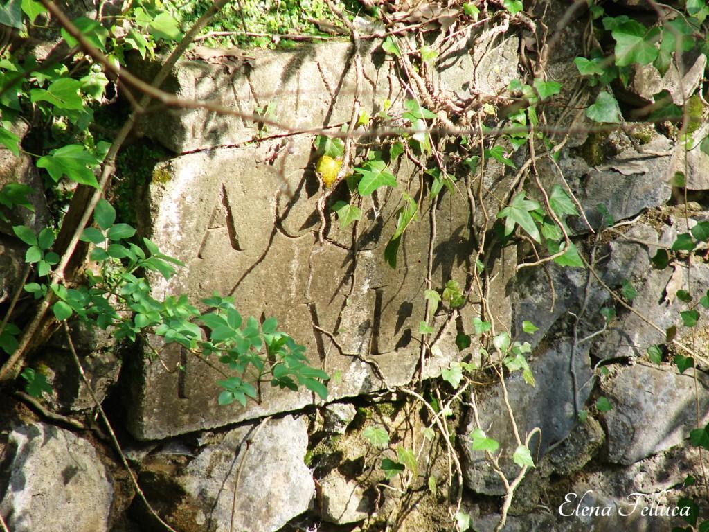 Aqua Traiana-Paola. Fosso di Grotte Renara. Ponte-condotto.