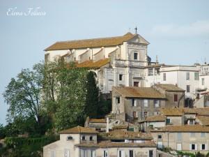 Anguillara Sabazia, centro storico.