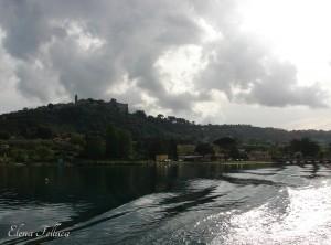 Giro sul lago Sabatino