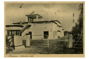 Bracciano, sede dell'Imperial Airways, 1937-1940.