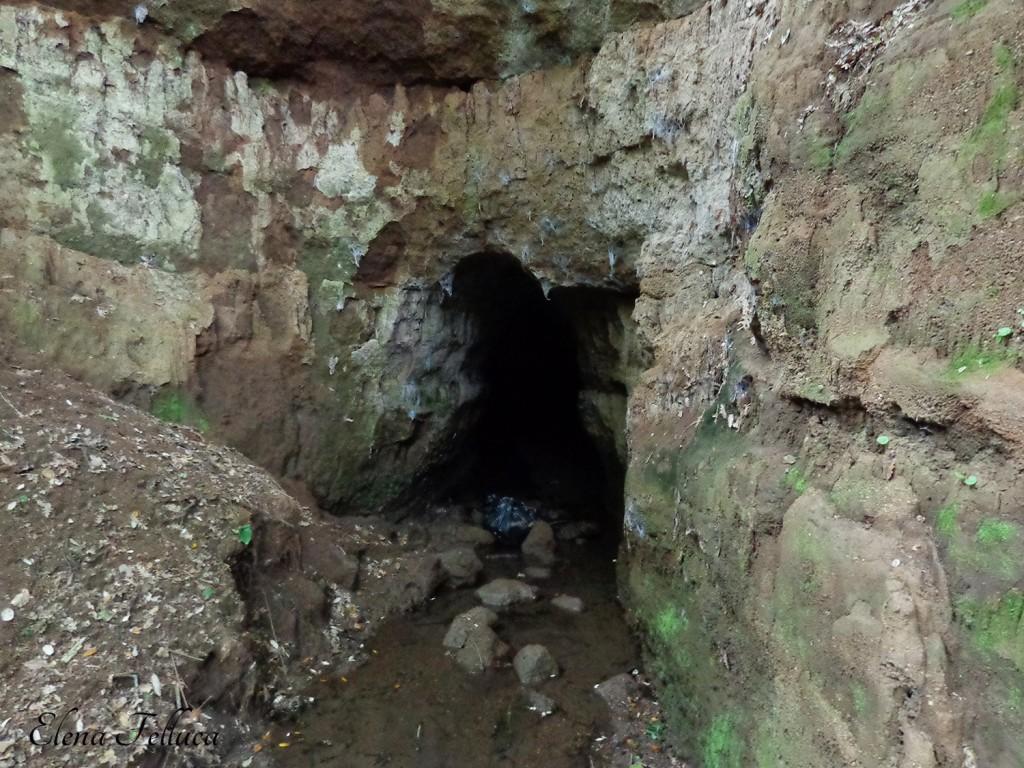 Opera di regimazione e imbrigliamento delle acque tra Fosso di Fonte dei Santi e Fosso di Cupinaio.