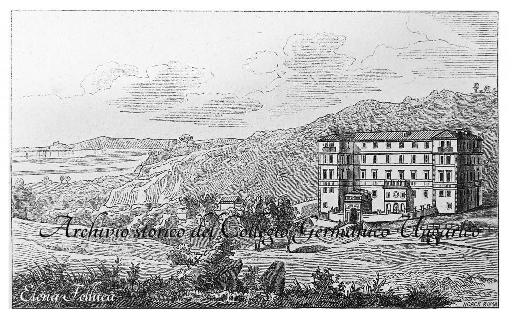 Bracciano, tenuta di Vicarello, edificio termale (Archivio storico del Collegio Germanico Ungarico)