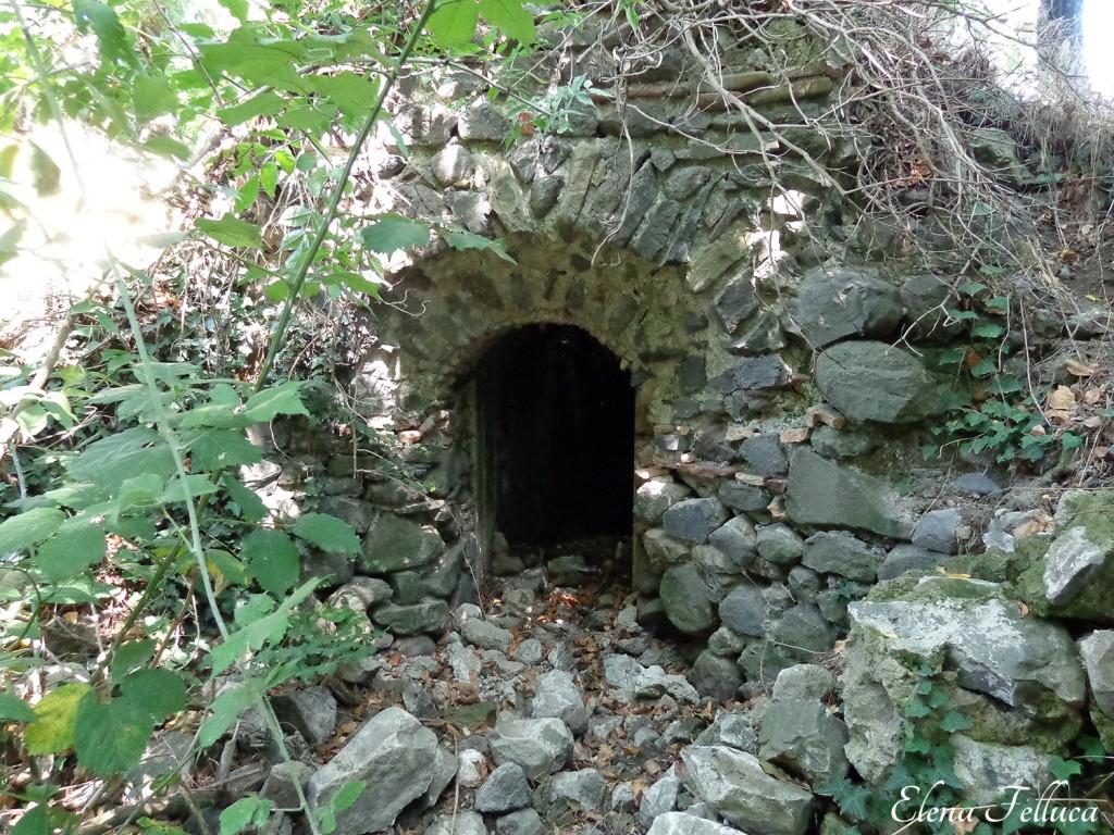 Il nuovo acquedotto Alsietino, incile del lago di Martignano del 1830.
