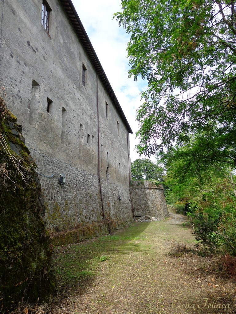 Bracciano, mura di cinta, XVI secolo.