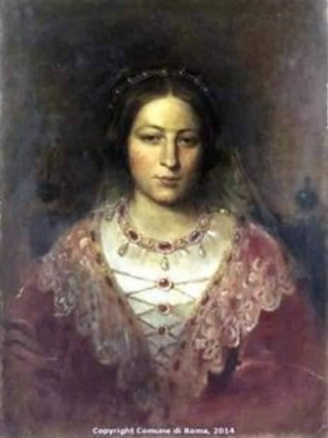 Ritratto di Sofia. Museo di  Palazzo Braschi, Roma