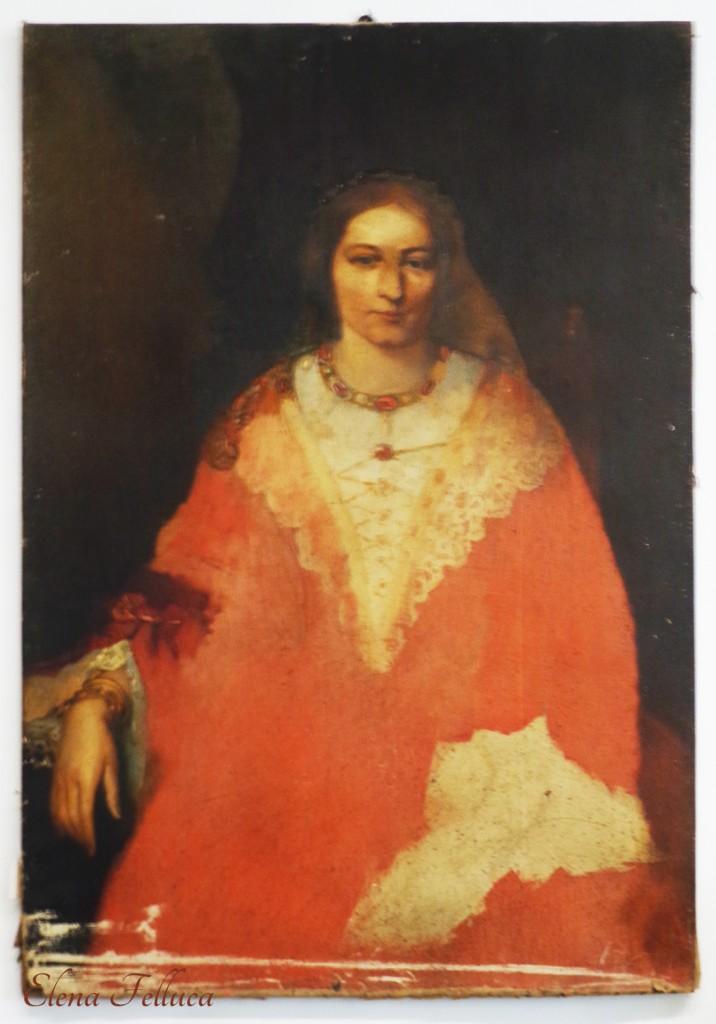 Ritratto di Sofia. Museo diocesano del Duomo di S. Stefano di Bracciano