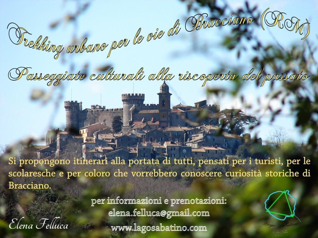 Trekking urbano per le vie di Bracciano (RM)
