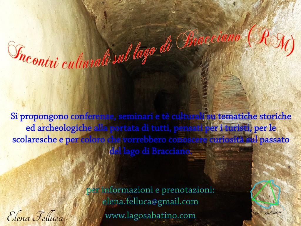 Incontri culturali sul lago di Bracciano (RM)